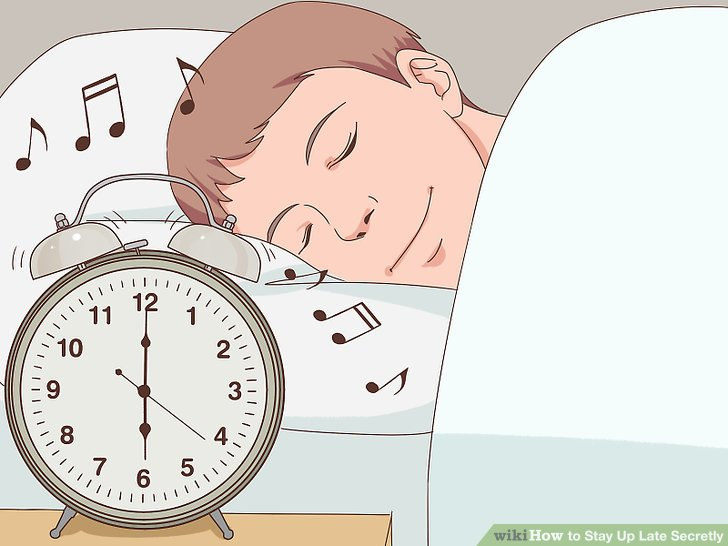 Child night clothes time to sleep clipart image library stock How to Stay Up Late Secretly (with Pictures) - wikiHow image library stock