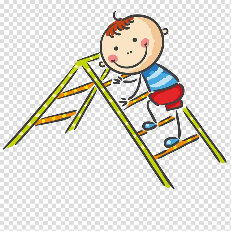 Child on ladder clipart royalty free Playground Child , Climb the ladder boy transparent background PNG ... royalty free
