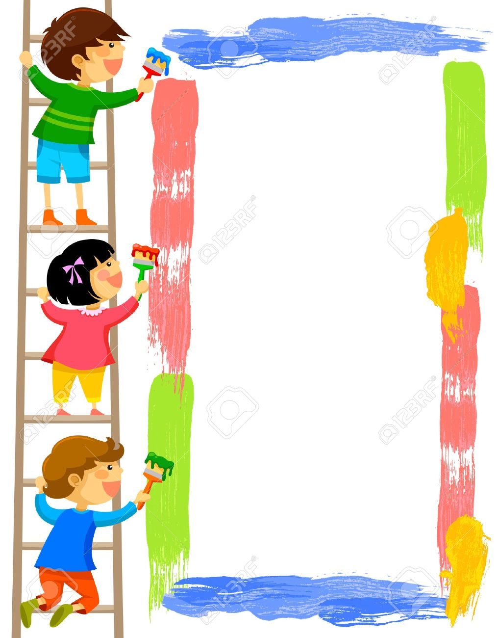 Child on ladder clipart banner black and white library Collection of Ladder clipart | Free download best Ladder clipart on ... banner black and white library