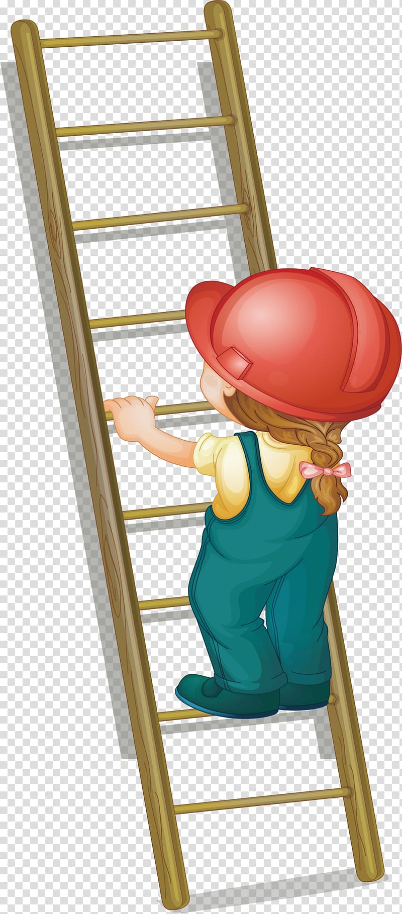 Child on ladder clipart freeuse library Ladder Illustration, Step on the ladder up transparent background ... freeuse library