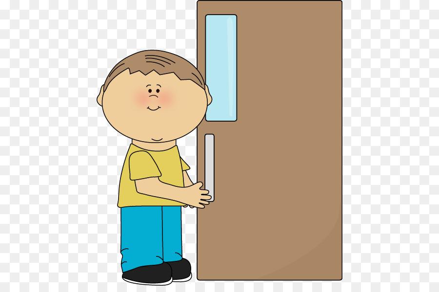 Child opening door clipart svg free download School Boy png download - 504*587 - Free Transparent Door png Download. svg free download