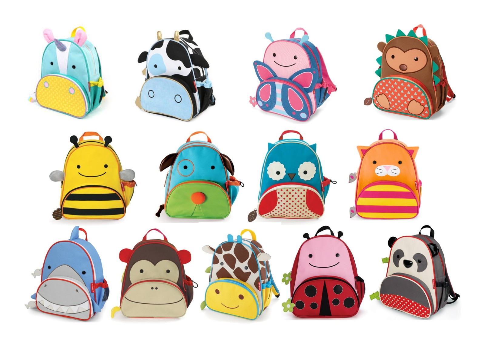 Child packing a backpack with toys clipart jpg freeuse download SkipHop Zoo Little Kid Backpack Many styles available at Wrigglepot jpg freeuse download