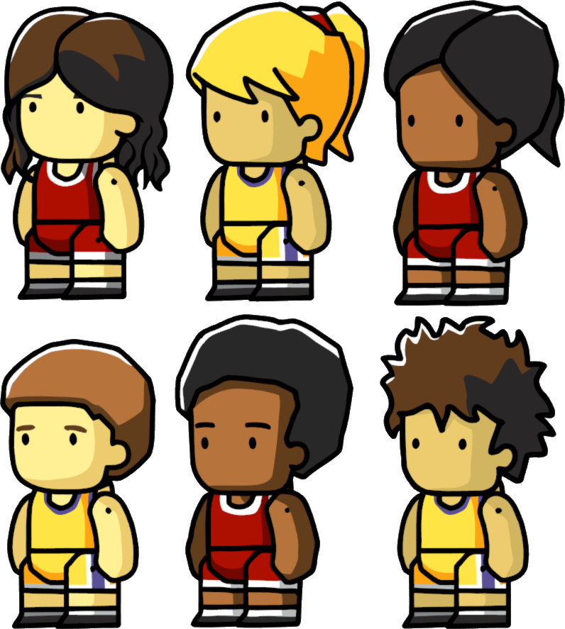 Child playing basketball clipart vector royalty free stock Basketball Player | Scribblenauts Wiki | FANDOM powered by Wikia vector royalty free stock