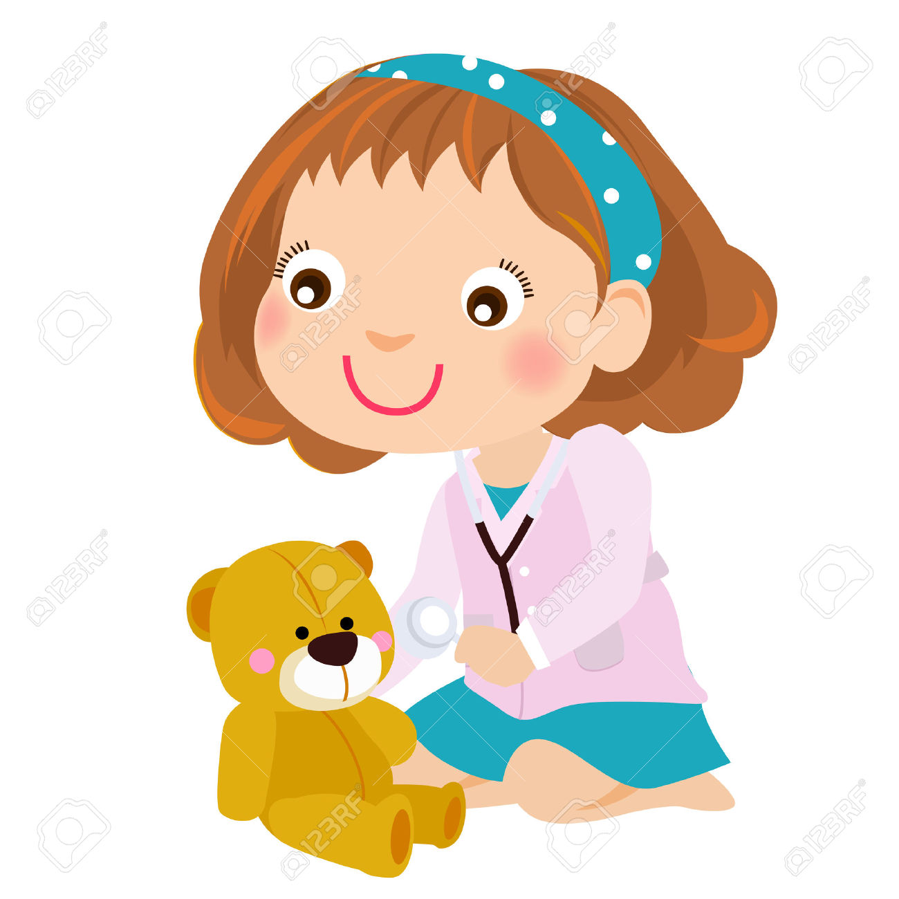 Child playing doctor clipart black and white clip royalty free library Doctor Clipart For Kids | Free download best Doctor Clipart For Kids ... clip royalty free library