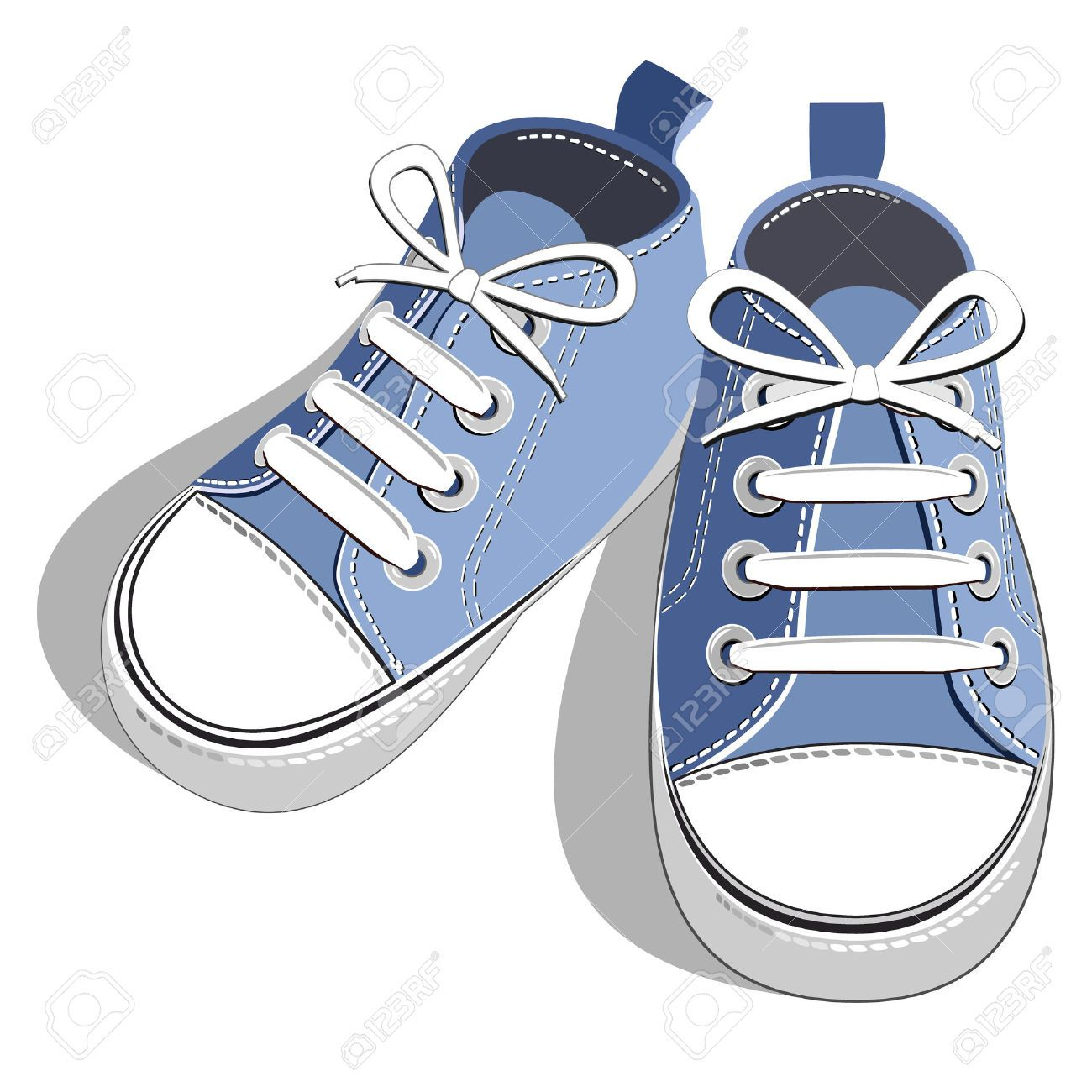 Toddler shoes clipart clip art free library Walking Shoes Stock Illustrations, Cliparts And Royalty Free ... clip art free library