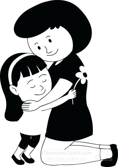Child share with parent clipart black and white clip library stock Children Clipart Black And White | Free download best Children ... clip library stock