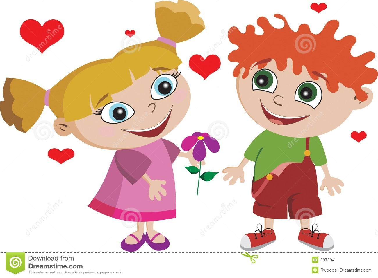 Boy Girl Kids Kid In Love Adorable Stock Images - Image: 897894 banner royalty free library