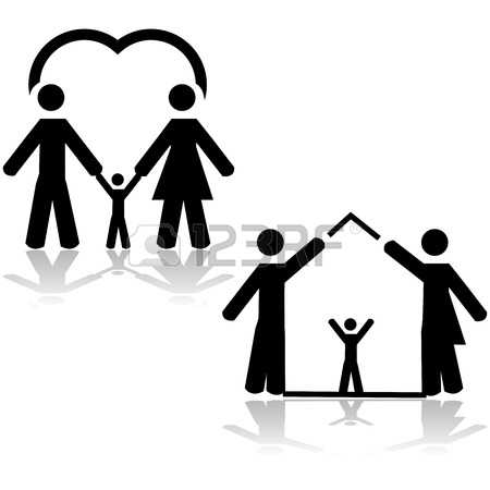 280 Trust Love Family Sign Stock Vector Illustration And Royalty ... image library download