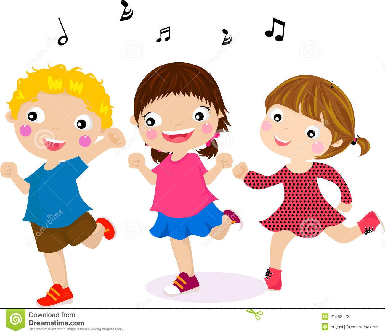 Toddler activity clipart image download Pics For > Children Singing And Dancing Clip Art | Classroom Ideas ... image download