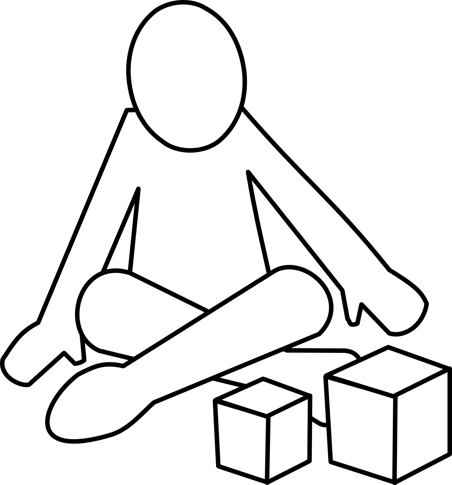Clipart child sitting criss cross clip transparent stock Cross legged child sitting free image clip transparent stock