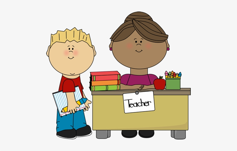 Teacher clipart speaking clip art freeuse stock Child Talking To Teacher Clipart - Show Teacher Clipart PNG Image ... clip art freeuse stock