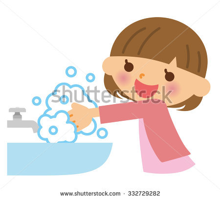 Child washing hands clipart clipart royalty free library Child Washing Hands Stock Images, Royalty-Free Images & Vectors ... clipart royalty free library