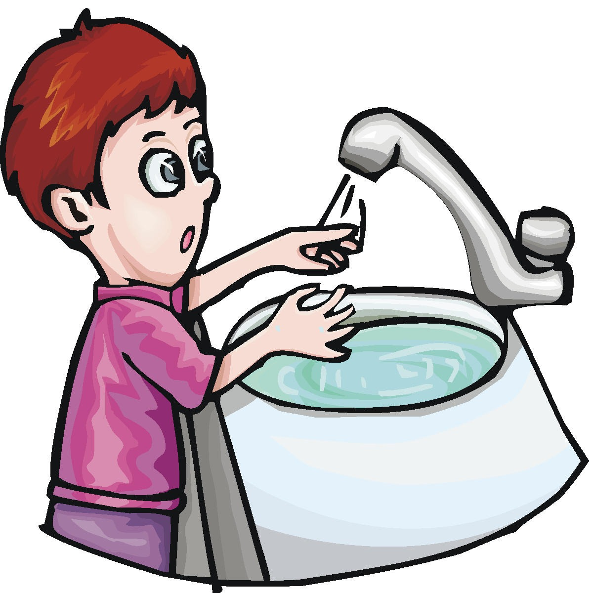 Child washing hands clipart free download Kids hand washing clipart - ClipartFest free download