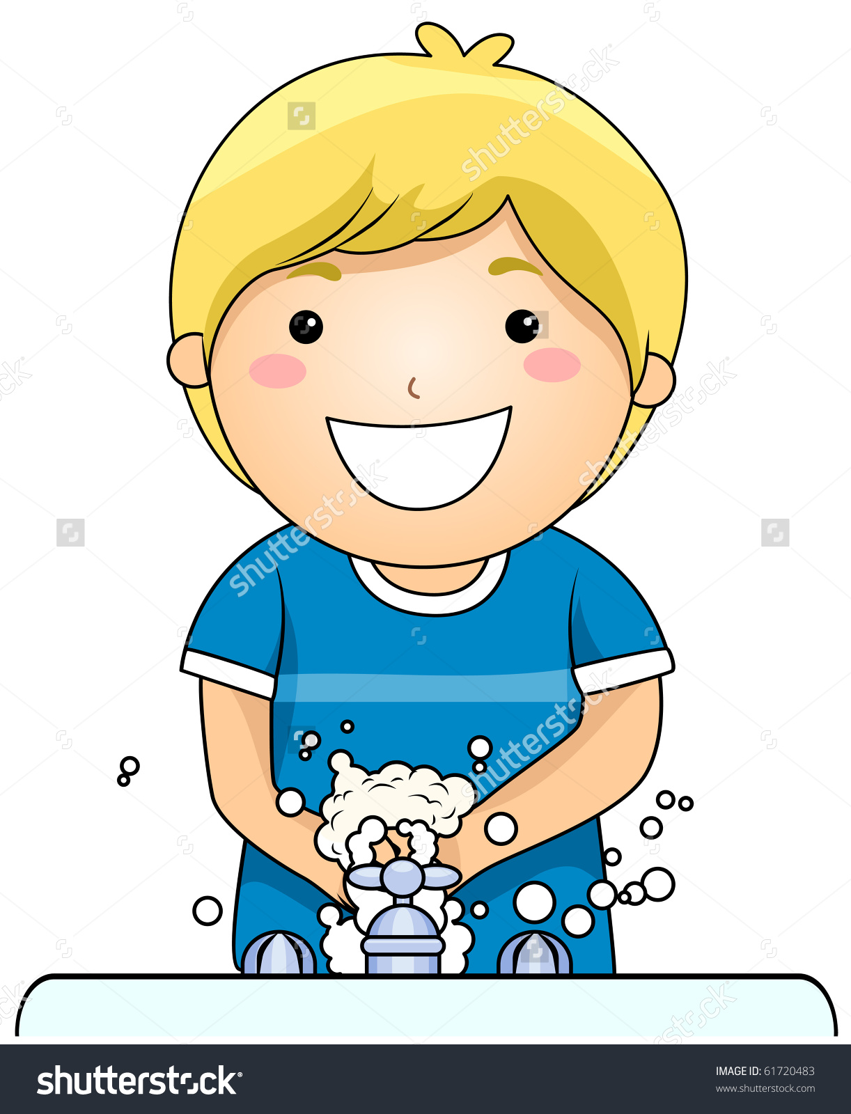 Child washing hands clipart banner free Child washing hands clipart - ClipartFest banner free