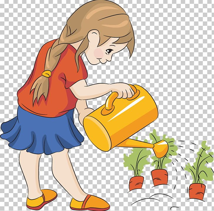Child watering plants clipart clipart transparent download Watering Can Plant Garden Seed PNG, Clipart, Art, Boy, Cartoon ... clipart transparent download