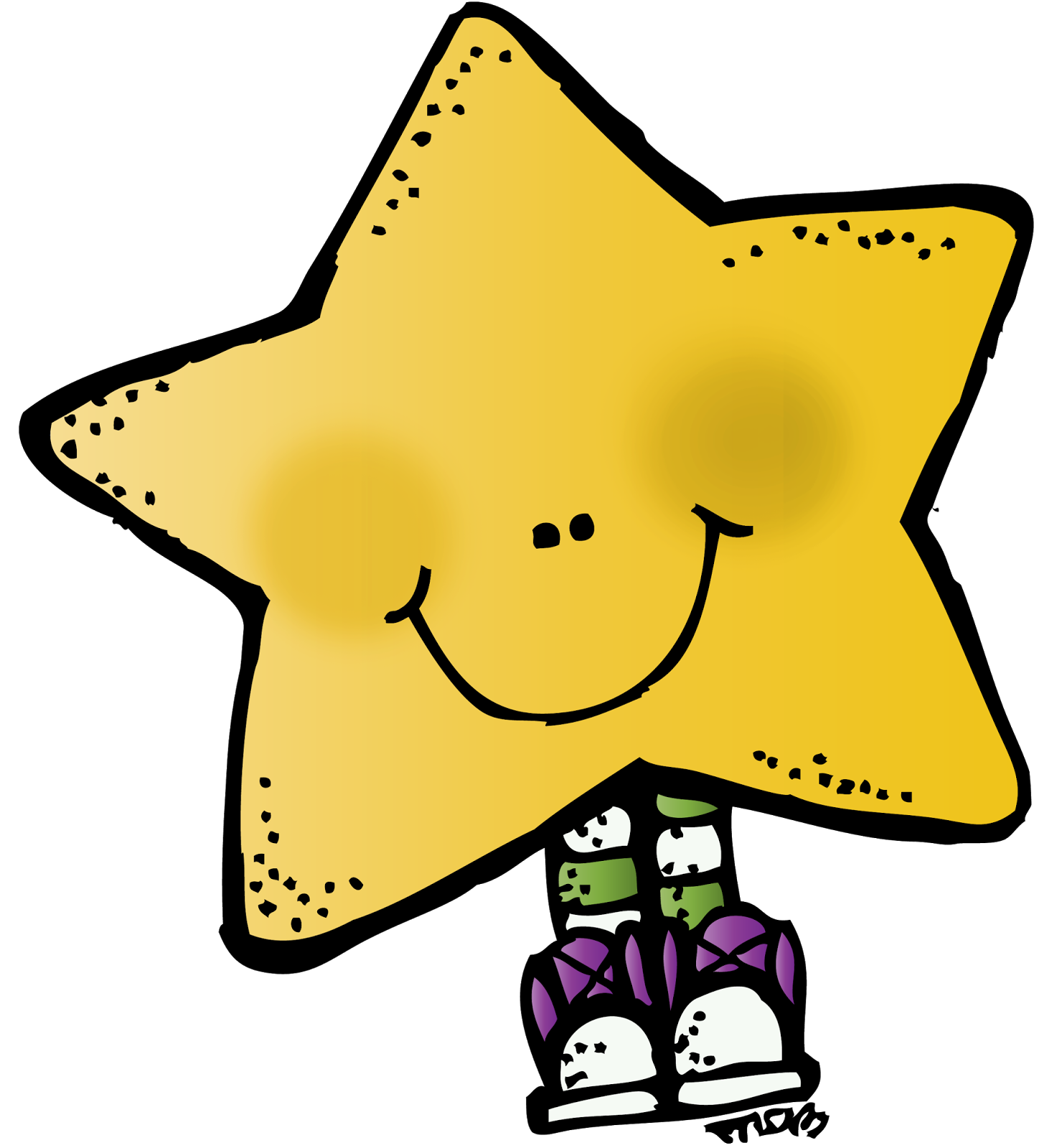 Happy star clipart clip royalty free How do you help your children be accountable for the quality of ... clip royalty free