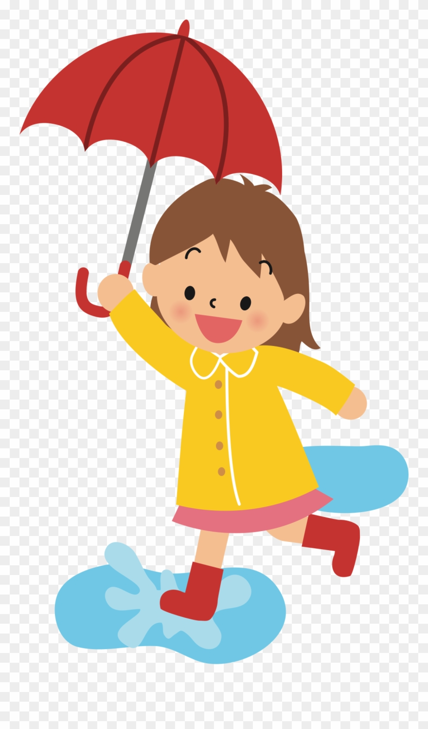 Holdingumbrella clipart clipart free library With Umbrella Silhouette At Getdrawings Com Free - Girl With ... clipart free library