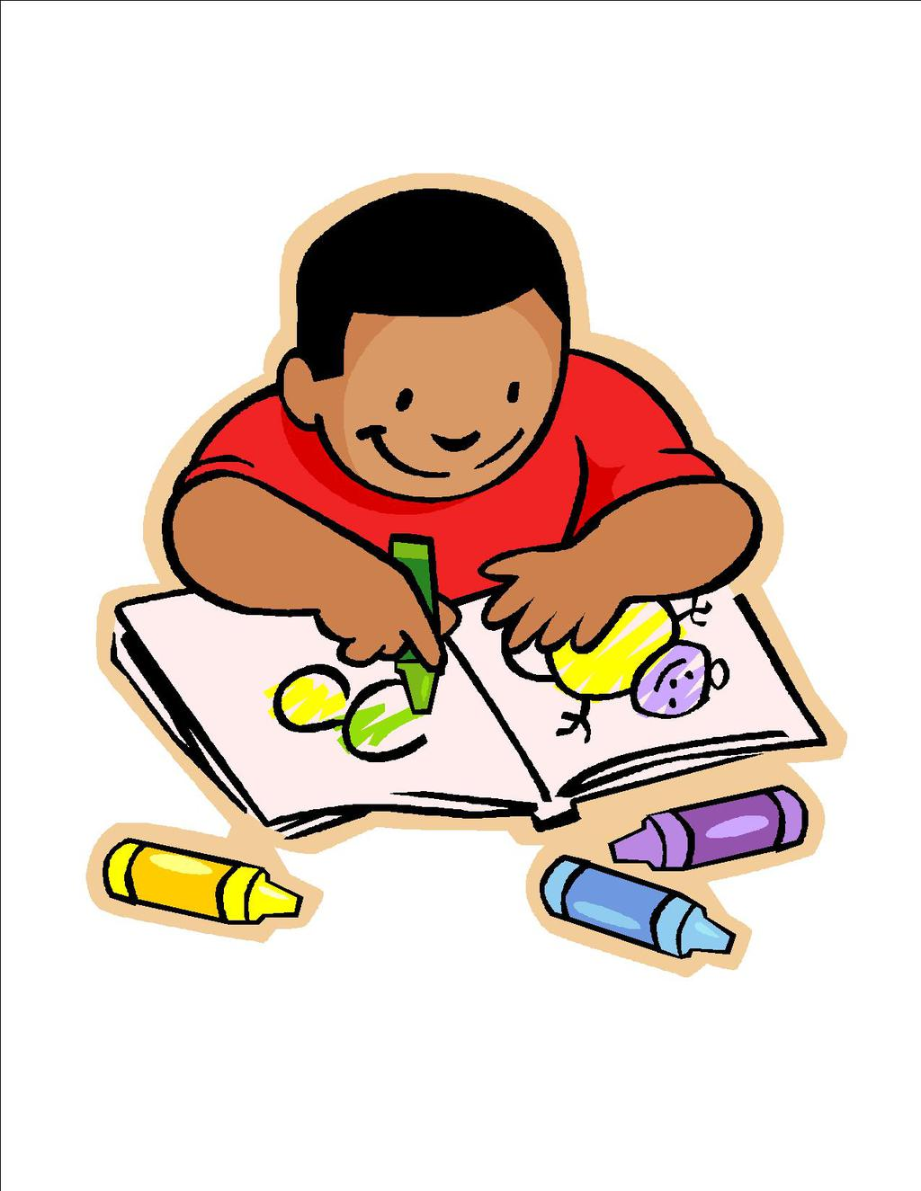 Child working clipart png library library Kids Working Clipart School Work Homework - Clipart1001 - Free Cliparts png library library