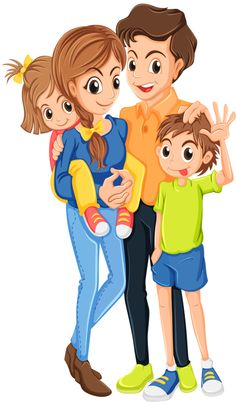 Family photos clipart clipart black and white 38 Best CLIPART - FAMILY images in 2018 | Clip art, Family clipart ... clipart black and white