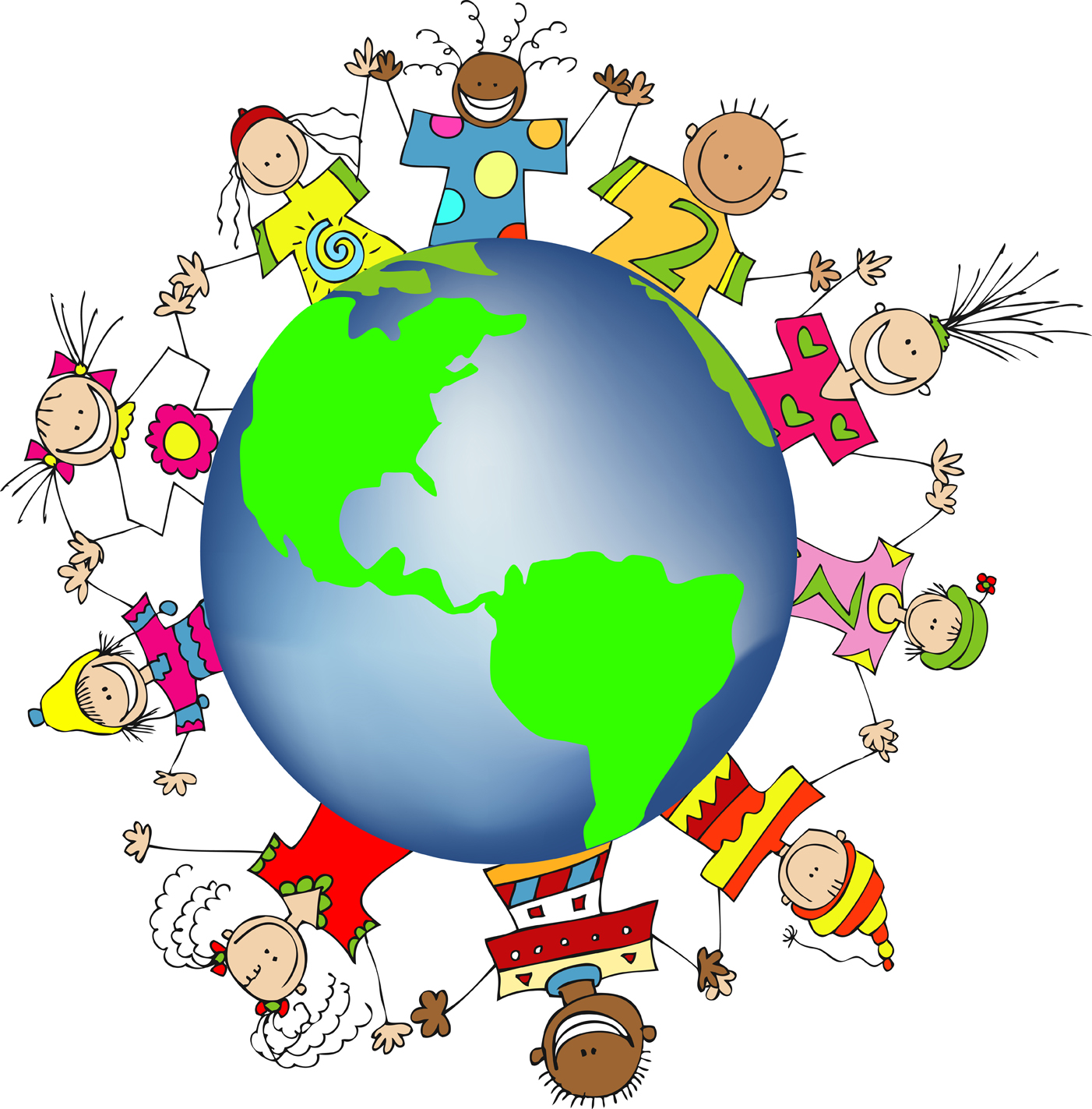 Free clipart of children learning around the world svg stock Free Children Of The World Clipart, Download Free Clip Art, Free ... svg stock