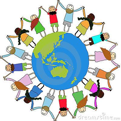 Free clipart of children around the world clipart black and white Free Children Of The World Clipart, Download Free Clip Art, Free ... clipart black and white