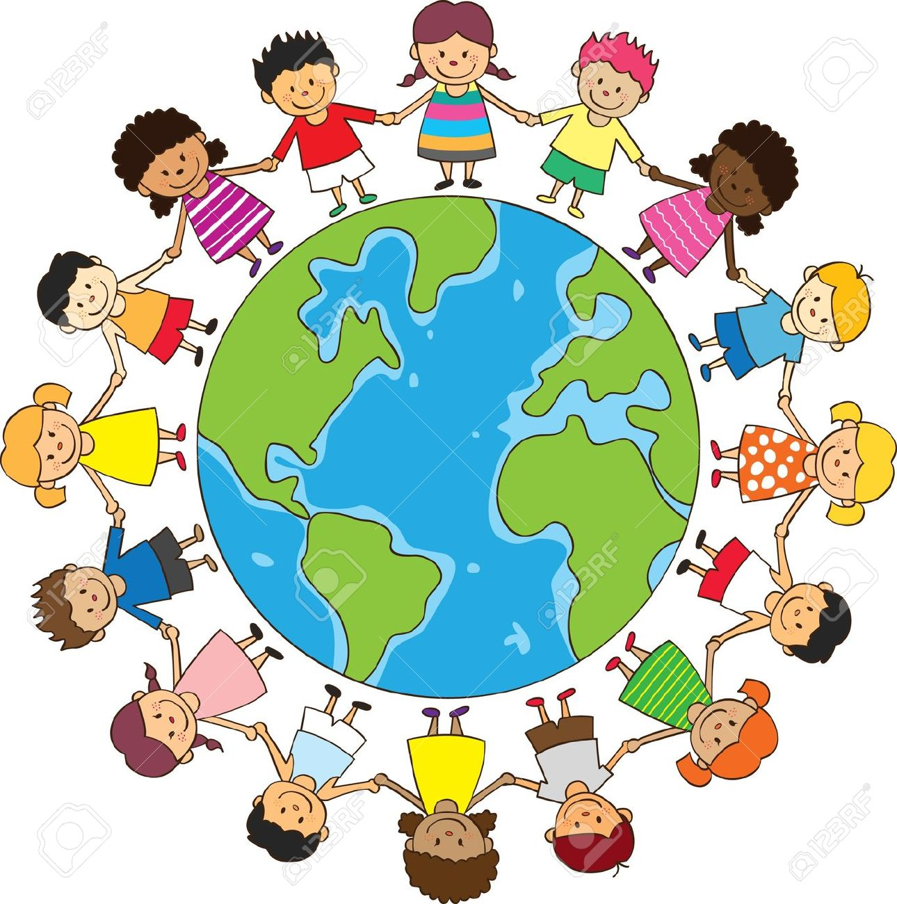 United nation clipart picture library stock Children Around The World Clipart | Free download best Children ... picture library stock