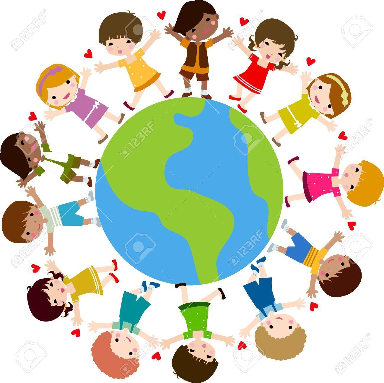 Children around the world clipart clip art freeuse stock Children around the world clipart free 1 » Clipart Portal clip art freeuse stock