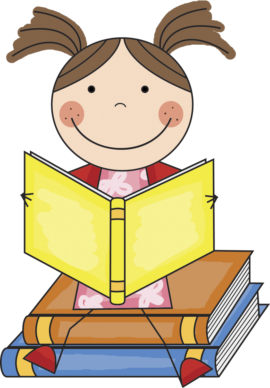 Children s library clipart clip freeuse download Free Children Reading Books Images, Download Free Clip Art, Free ... clip freeuse download