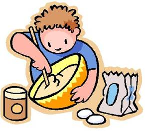 Kids cooking panda free. Children chef clipart