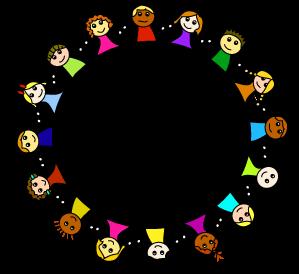 Children circle clipart svg transparent stock child images clip art | PAGE 2 - MULTICULTURAL: FRIENDSHIP GLOBE ART ... svg transparent stock