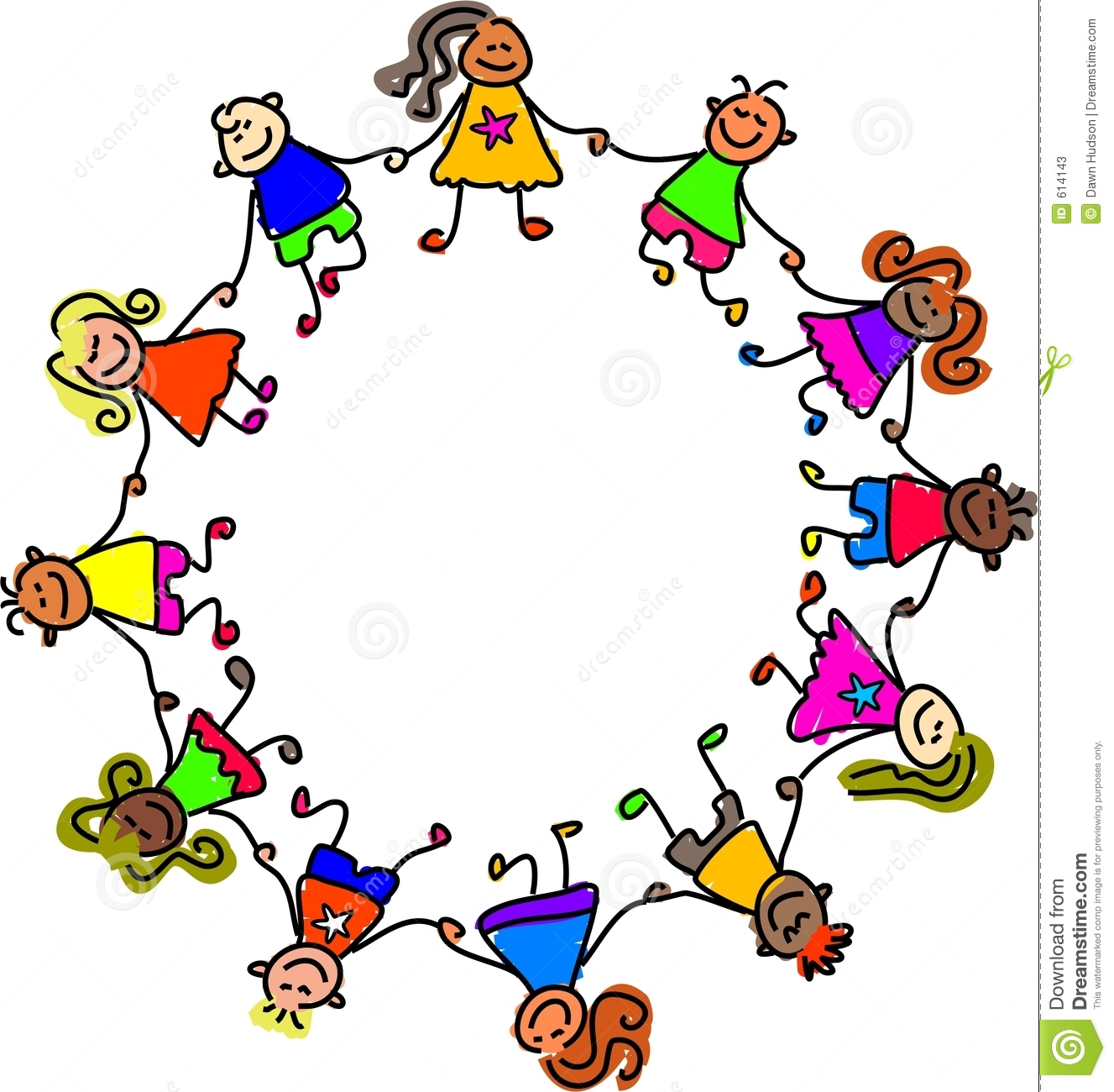 Children circle clipart jpg library download Free Kids Holding Hands, Download Free Clip Art, Free Clip Art on ... jpg library download