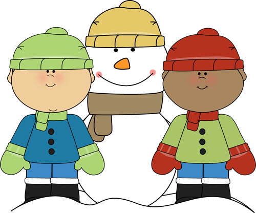 Winter teacher clipart
