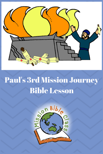 Children clipart bible stories paul in ephesus image stock Paul\'s 3rd Missionary Journey- Ephesus – Mission Bible Class image stock