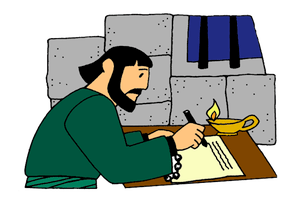 Children clipart bible stories paul in ephesus graphic black and white stock Paul Writes Letters from Prison – Mission Bible Class graphic black and white stock