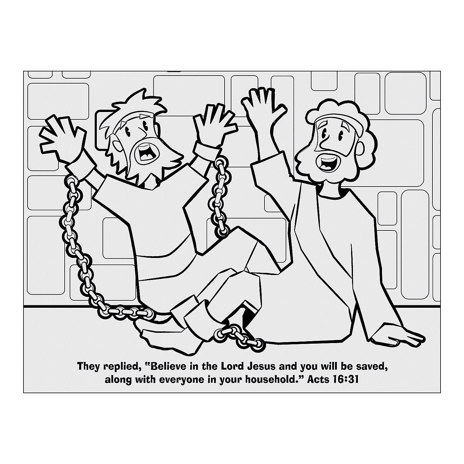 Children clipart paul s joy in prison bible stories clip art royalty free library Image result for free printable picture of paul and silas ... clip art royalty free library