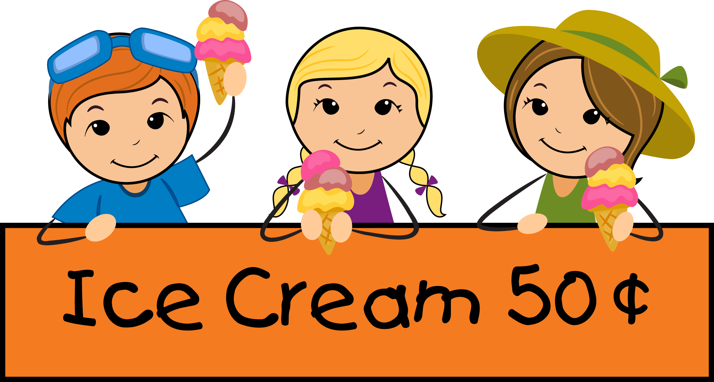 Kids eating ice cream clipart banner free library Kids Summer Clothes Clipart | Clipart Panda - Free Clipart Images banner free library
