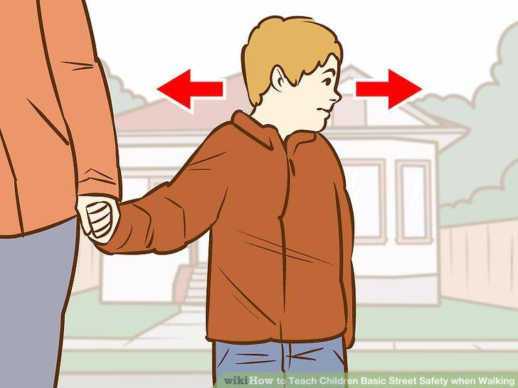 Children crossing the street clipart picture free download 3 Ways to Teach Children Basic Street Safety when Walking picture free download