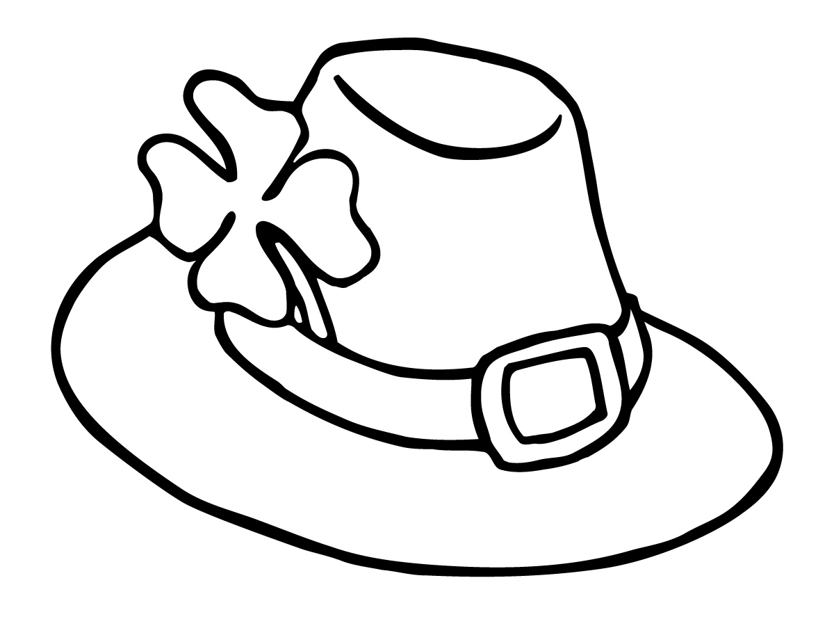 Children easter hat image clipart black and white picture black and white Free Hats Picture, Download Free Clip Art, Free Clip Art on Clipart ... picture black and white