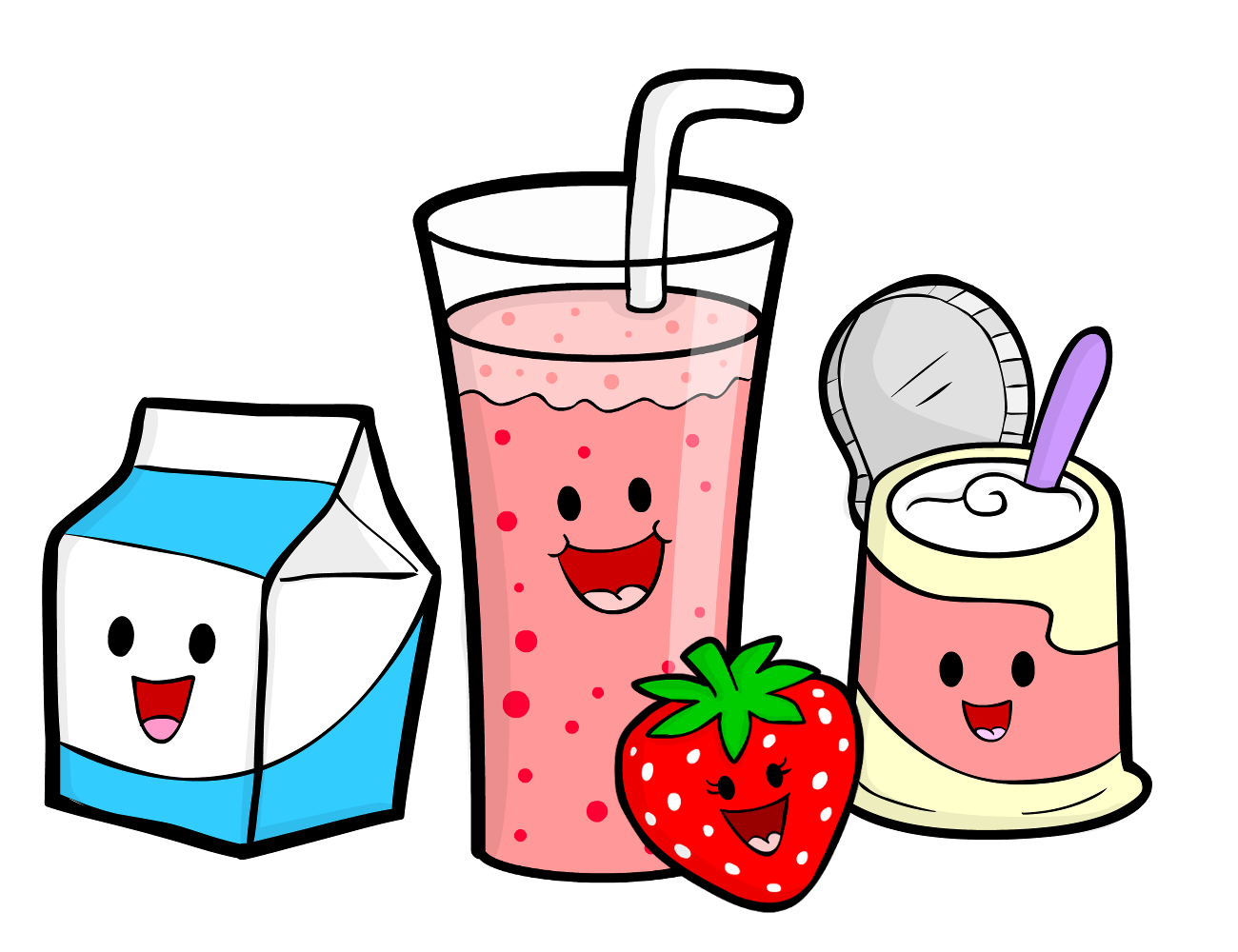 """Clipart for recipe book for kids graphic freeuse cartoon cooking 