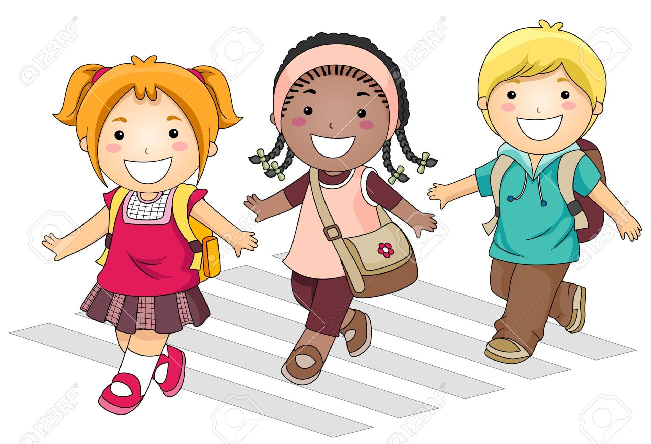 Children go to school clipart freeuse download Children going to school clipart 5 » Clipart Station freeuse download