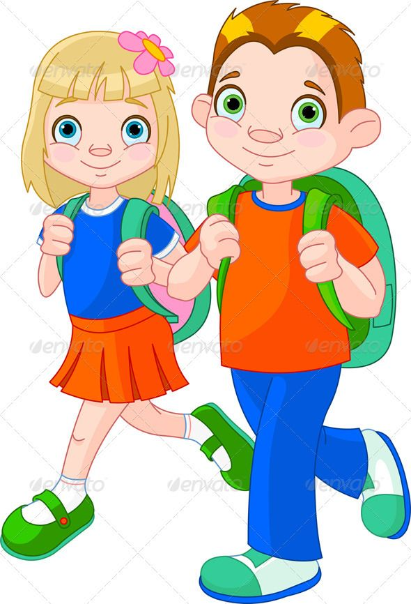 Children go to school clipart clip royalty free Back to school | Clip art | School, School scrapbook, School clipart clip royalty free