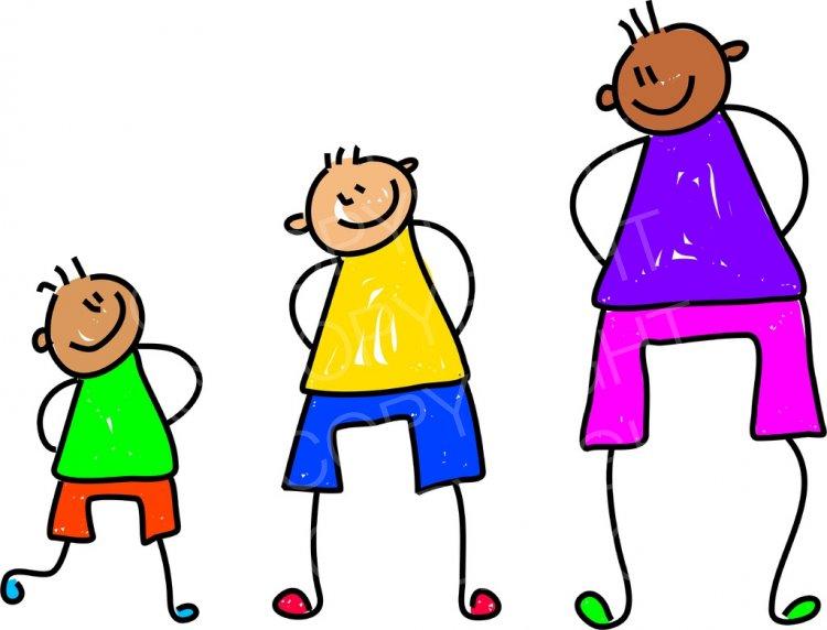 Children growing clipart banner freeuse download Toddler Art Growing Kids Prawny Clipart – Prawny Clipart Cartoons ... banner freeuse download
