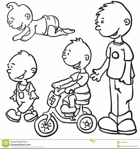 Children growing clipart vector Children Growing Up Clipart | Free Images at Clker.com - vector clip ... vector