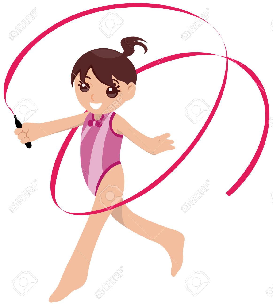 Children gymnastics clipart jpg stock Gymnastics Cartoon Clipart | Free download best Gymnastics Cartoon ... jpg stock