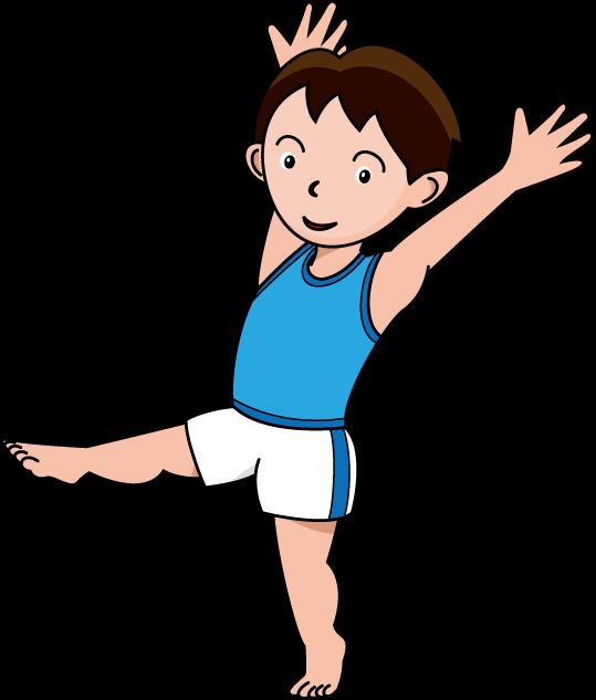 Children gymnastics clipart clipart black and white stock Toddler Gymnastics Cliparts - Cliparts Zone clipart black and white stock