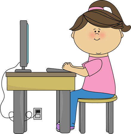 Children in a computer clipart clipart free stock Computer Clip Art For Kids | Clipart Panda - Free Clipart Images clipart free stock