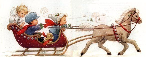 One horse open sleigh clipart png freeuse All Ruth Moreheads   One-horse open sleigh   Ruth Morehead 2 ... png freeuse