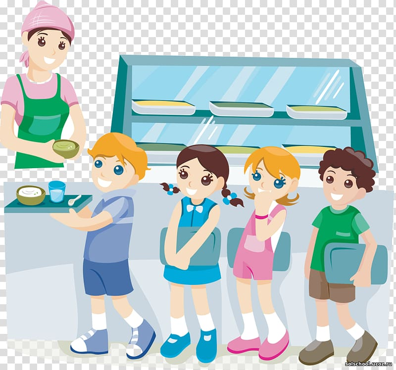 Children in cafeteria clipart clip freeuse Children falling inline on cafeteria illustration, Cafeteria School ... clip freeuse
