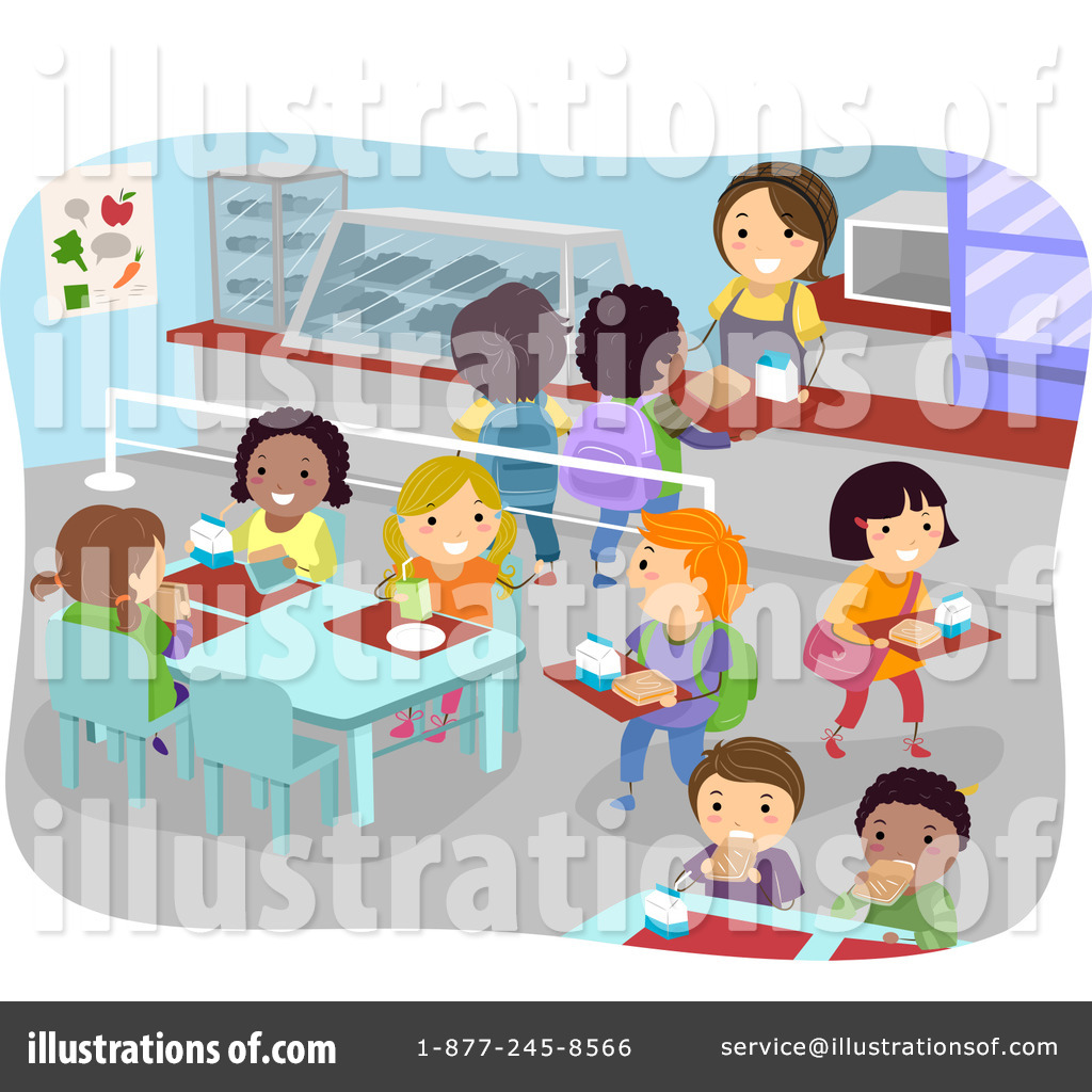 Free cafeteria clipart. Illustration by bnp design