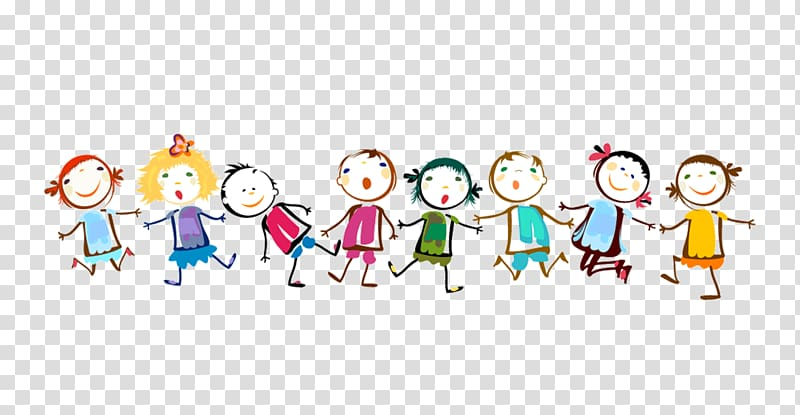 Children in line clipart png picture free download Line of children graphic , Paper Child , Children holding hands ... picture free download